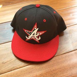 Atlanta Braves hat, Size 7 1/2